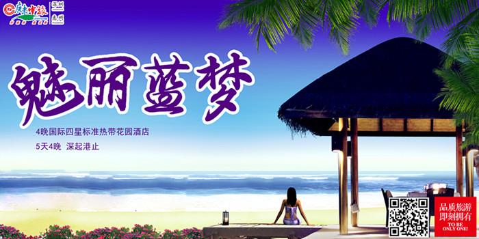Y:魅丽蓝梦巴厘岛4晚5天游(深起港止)