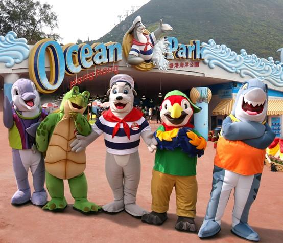 香港海洋公园+迪士尼乐园品质两日游