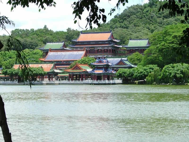珠海园明新园、澳门环岛、梅农一日游