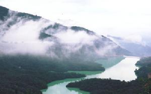 """【大亚湾】碧海湾景区""""山海峡漂流、水上游乐园""""、环海绿道单车1天"""