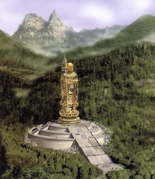 J2:莲花佛国九华山、99米地藏王菩萨圣像景区双飞四天祈福纯玩团