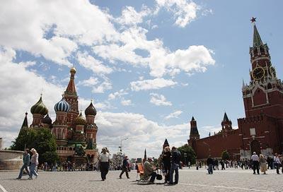广州-莫斯科-圣彼得堡-金环-拉多加湖八天行程