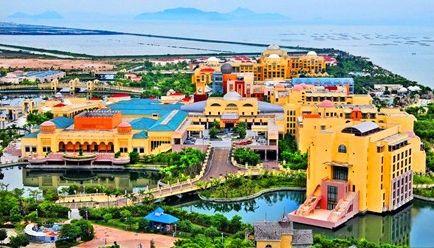 H1线 珠海海泉湾海洋温泉、圆明新园、中山故居、神秘果园、海鲜街浪漫休闲