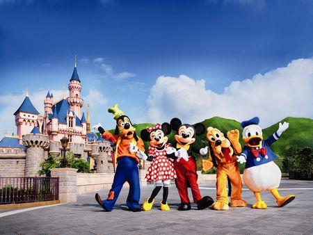 香港海洋公园+迪士尼乐园纯玩三日游
