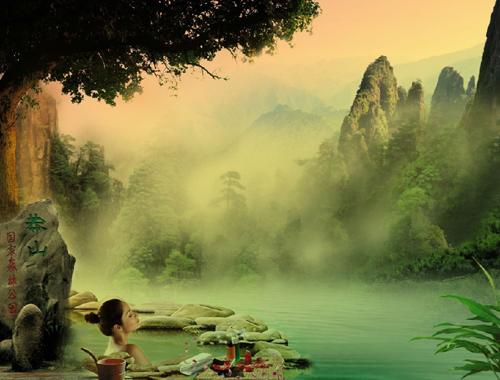 C2:[郴州温泉]雾漫小东江|正宗郴州三文鱼宴|五星奢华高铁三天