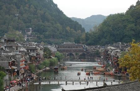 G1:张家界国家森林公园、杨家界、凤凰古城五天高铁团