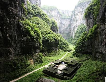 L线:武隆仙女山、天坑三桥、重庆洪崖洞、磁器口古镇四天双飞休闲团