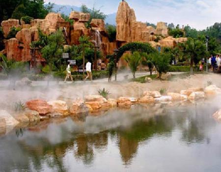 E线【龙门】铁泉黄金汤温泉、水国迷城、鹤之洲公园两日游