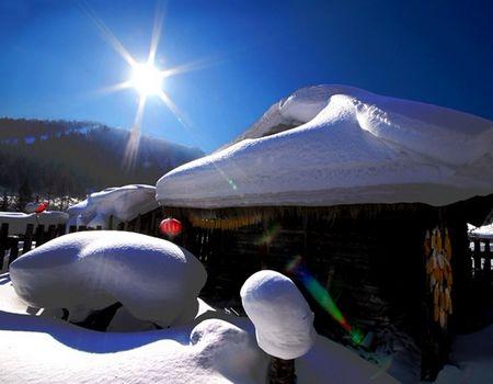 HB:哈尔滨、亚布力滑雪、雪乡、吉林双飞五日