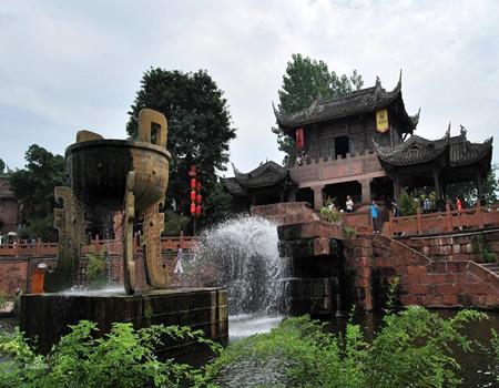 H线:峨眉山、乐山、石象湖、成都锦里四天双飞赏花团