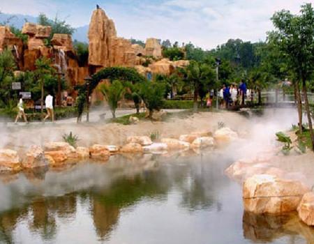 """03增城白水寨""""中国第一瀑布""""、鹤之洲湿地公园一天"""