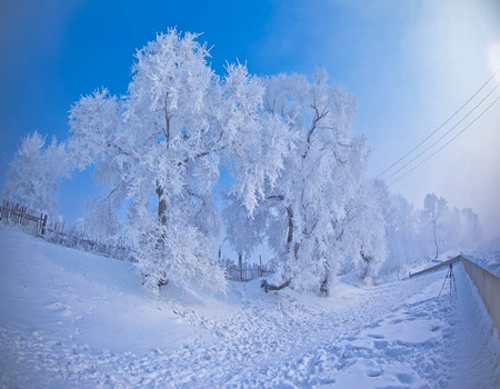 XE1:哈尔滨、亚布力滑雪、吉林雾凇岛、长白山赏天池、泡5星长白温泉双飞6日