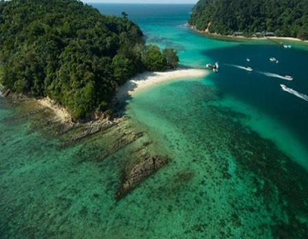 沙巴香格里拉度假酒店/沙比岛马努干岛双岛游/世外桃源红树林五天度假品质团