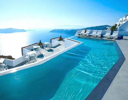W;特色悬崖版---唯美希腊米克诺斯+圣托尼里岛8天深度游
