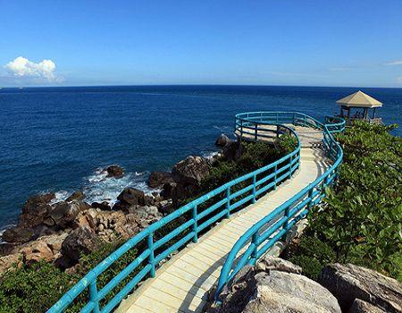 Y2-三亚蜈支洲岛+南山文化苑+热带天堂森林公园四天双飞纯玩团
