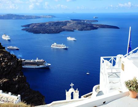 W:唯美希腊米克诺斯+圣托尼里岛8天深度全程四星
