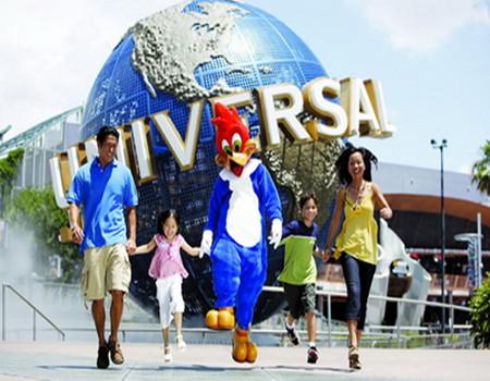 K;新加坡金莎娱乐城-环球影城-滨海花园-夜间动物园-国立大学-双飞五天高品度假