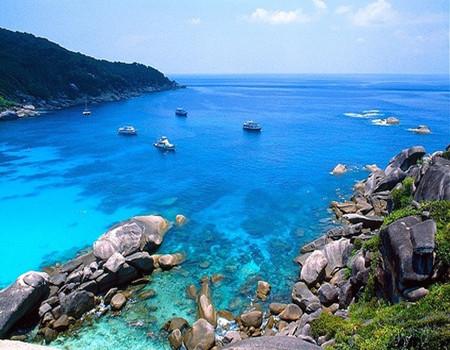 H;普吉岛·攀牙湾·泛舟007岛·快艇PP岛·泳池别墅·美食升级五天尊享(香港往返)