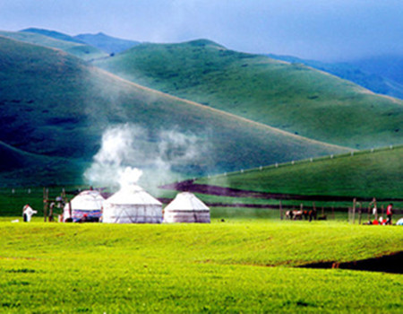 Y:中国最美草原呼伦贝尔、中俄口岸满洲里、看天池赏峡谷穿越兴安岭大美阿尔山、东方巴黎哈尔滨双飞八日