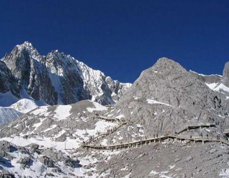 C:A5线昆明九乡、大理洱海双廊、丽江玉龙雪山冰川大索 虎跳峡、香格里拉普达措双飞六天全景游