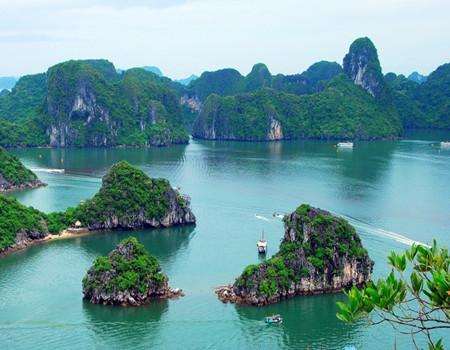 H;【纯越南-河内】越南河内-海上桂林下龙湾五天超值团
