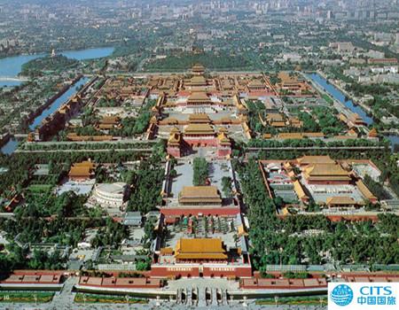 B*春节欢乐颂 北京五天双飞欢乐品质升旗之旅(无自费,无购物)