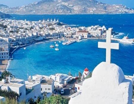 W;希腊圣岛+米岛8天深度游(QR)