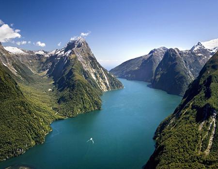 HX:纯净新西兰冰河峡湾(五彩香槟池、邂逅但尼丁)九天