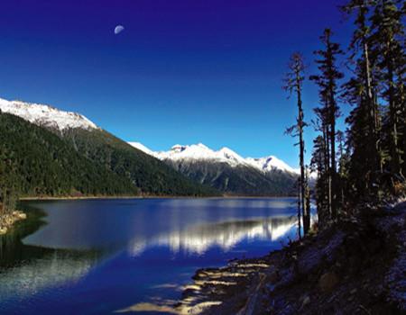 B5【魅力西藏】深圳、西宁青海湖、拉萨、林芝措木及日、大峡谷、纳木措三飞一卧9日游
