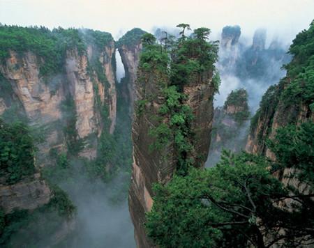 X:C线:【全景】天门山玻璃栈道·大峡谷玻璃桥·张家界国家森林公园品质五星高铁五日游(纯玩.零自费)