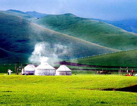 J;呼伦贝尔大雪原莫日格勒河根河敖鲁古雅驯鹿部落中国冷极村满洲里套娃景区双飞五天游