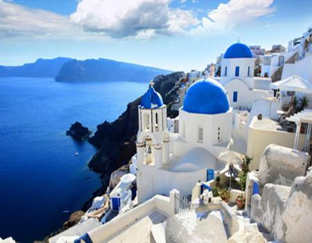 Y;希腊米岛+圣岛+悬崖酒店+天空之城10天(QS)