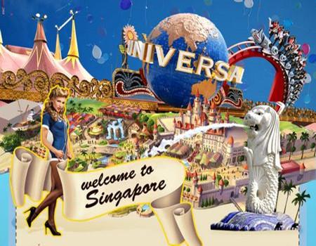 B;新加坡缤纷圣淘沙·环球影城·日间动物园亲子五天纯玩团