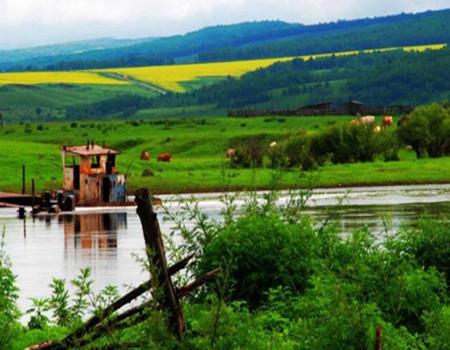 Z-B55:呼伦贝尔大草原.莫日格勒河.额尔古纳湿地.二卡湿地景区.蒙古人游牧部落双飞六日游