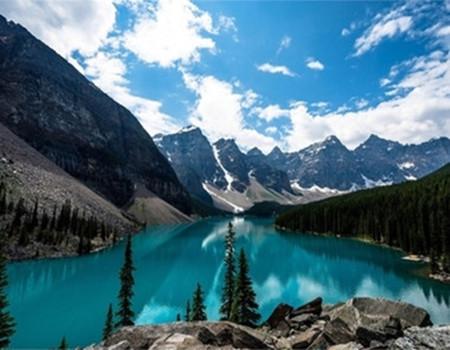 Z;加拿大东西岸及落基山脉四大国家公园+升级费尔蒙城堡酒店+天然温泉自然之旅13天品质团