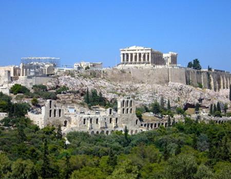 C;希腊雅典+圣托尼里岛8天之旅