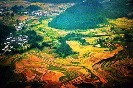 GG:贵州黄果树大瀑布、万峰林、马岭河、乌蒙大草原、妥乐银杏、青岩古镇高铁六日游