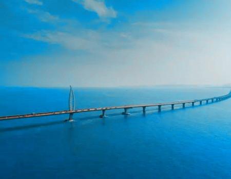 港澳珠大桥体验:香港--东荟城自由活动--港澳珠大桥--珠海