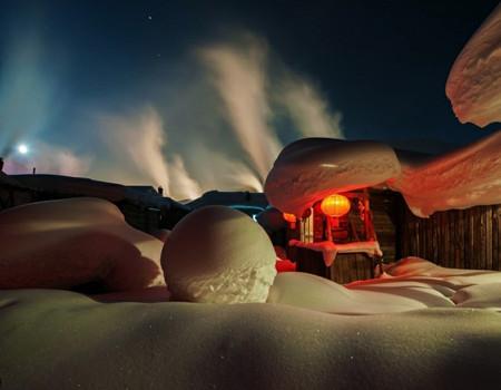 XZ-E线【哈雪梦境-亲子游】哈尔滨、亚布力、冰雪大世界、雪乡、伏尔加庄园、手绘套娃、制作西餐、糖葫芦双飞五天