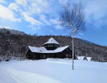 D;日本本州滑雪6天·高山白川乡雪国童话豪华双温泉6天纯玩之旅