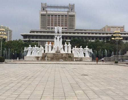 WJ-W1线:古都沈阳+朝鲜平壤+开城板门店+妙香山6日游