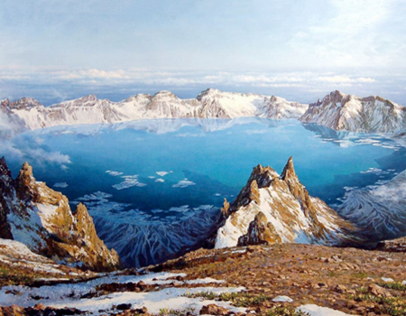 WJ-H1-长白冬韵;吉林雾凇.长白山北坡.大广东满洲风情.万达激情滑雪双飞五天