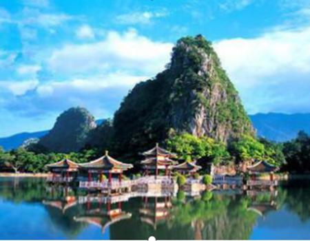 肇庆七星岩风景区、北回归线上翡翠-鼎湖山、白沙龙母庙、美食2天